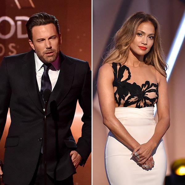 Ben Affleck Gets Awkward In Front Of Jennifer Lopez At Hollywood Film Awards