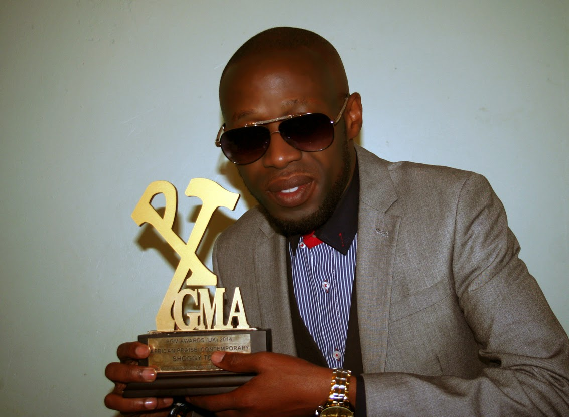 Shoggy Tosh Wins His First Music Gong At The 2014 PGMA London Awards