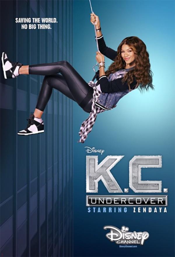 Zendaya: First Poster Of Disney's 'K.C. Undercover' Series — Pic