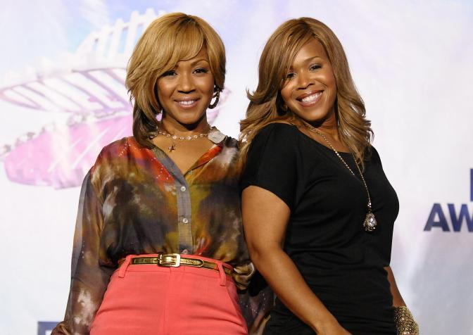Tina Campbell Quashes Suggestions of Rivalry With Sister Erica