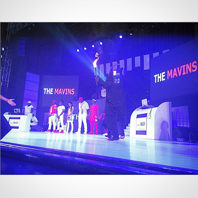 Photos from Mavins performance in Ghana last night.