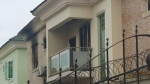 Actress Kate Henshaw's home on  fire